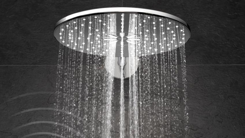 Nová dimenze sprchování: inteligentní technologie s intuitivním ovládáním