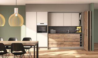 Oddělte efektivně kuchyň od obývacího pokoje