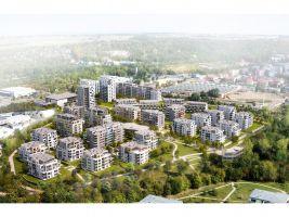 Suomi a Lappi Hloubětín - vizualizace projektu