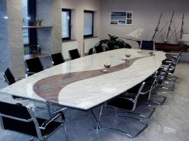 Keramická stolová deska