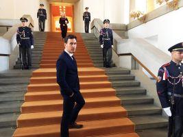 Pavel Podruh na předávání ocenění Manažer roku