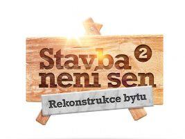 Logo Stavba není sen 2 - Rekonstrukce bytu