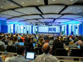 Předávání ocenění EU Sustainable Energy Award v budově Charlamagne Evropské komise