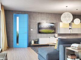 Modré dveře