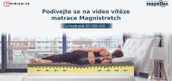 Aleš Panocha vyhrává matraci Magnistretch od společnosti Magniflex v hodnotě 60 000 Kč!