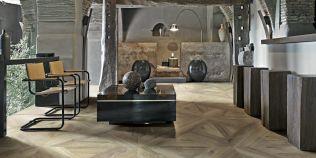 Fotogalerie: podlaha jako ze starých italských sídel šlechty