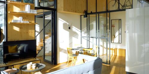 Virtuální prohlídka: YIT přestavuje bývalou Meoptu na industriální byty
