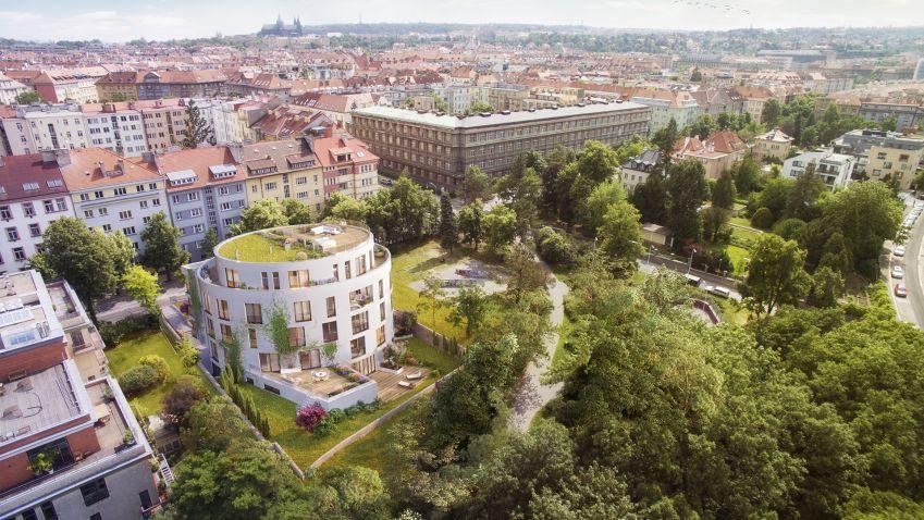 Projekt Bubeneč Gardens získal v soutěži Realitní projekt roku ocenění