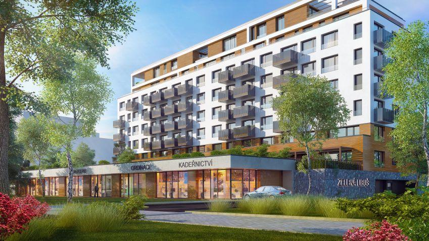 Projekt Zelená Libuš už má hrubou stavbu