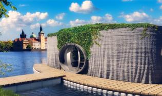 První český 3D tištěný dům z betonu je na světě