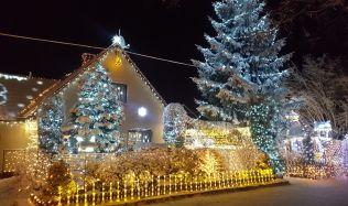 Rekordman ve vánoční výzdobě? Dům u Litomyšle rozzáří 65 tisíc žárovek