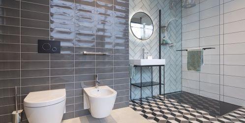 Stylové koupelny plné inspirace - Retro styl koupelny