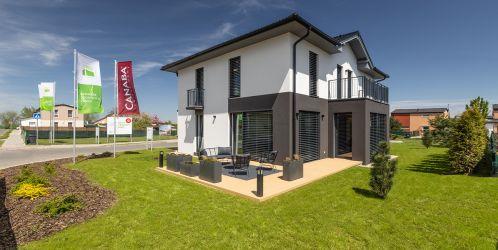 Rezidence je otevřena! Ve vzorovém centrum rodinných domů vyrostl již sedmý dům.