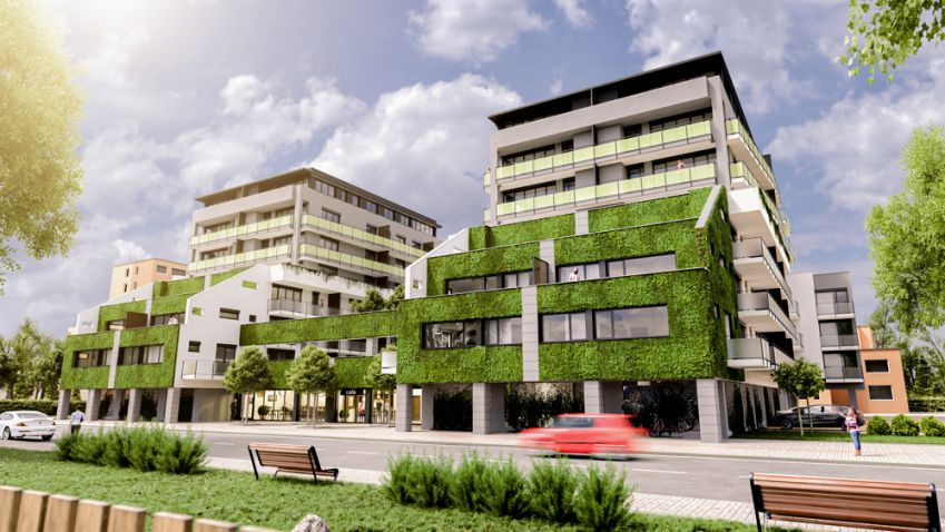 Rezidence Oskarka: První živý zelený bytový dům v Českých Budějovicích