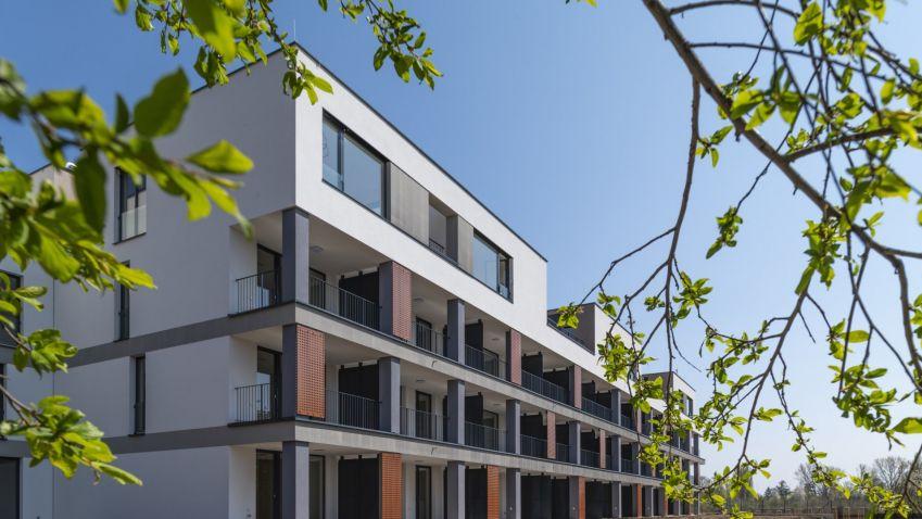Rezidenční komplex Bleriot v pražských Kbelích má po kolaudaci