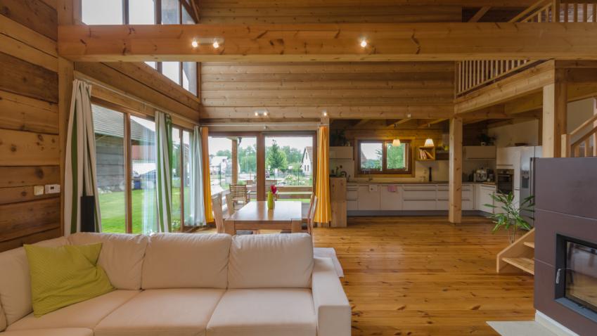 Roubenky zcedrového dřeva nabízí zdravé a ekologické bydlení