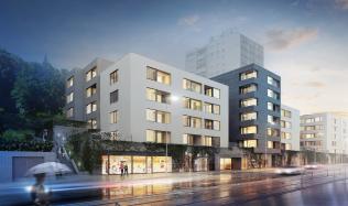 RS development získal stavební povolení pro projekt Klamovka Gardens