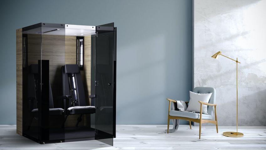Skvělý relax v infračervených kabinách si můžete vychutnat i v pohodlí vašeho domova