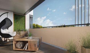Soukromí a stín na balkoně jednoduše!