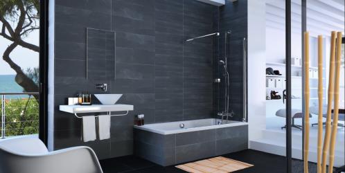 Sprchování ve vaně bez potopy v koupelně