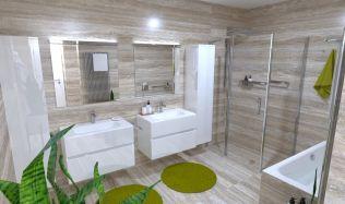 Stavba není sen 2: výběr velkoformátových obkladů nejen do koupelny