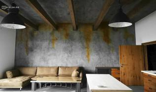 Stěrky – cenově velmi dostupný design pro každý interiér.