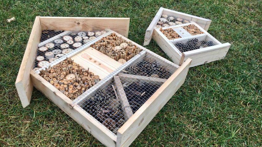 Tip: postavte si domeček pro hmyz