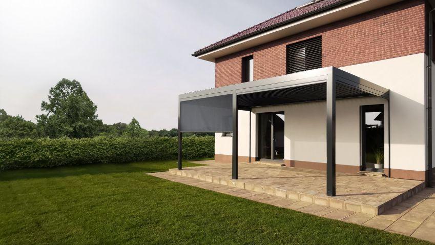 Tip: Samonosná bioklimatická pergola s inovativním a čistým designem