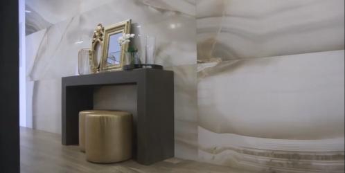 Inspirace koupelny - Trend velkoformátových obkladů a dlažeb!