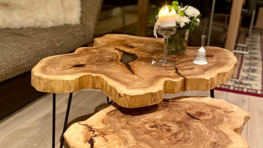 Unikátní dřevěné designové prvky do interiéru si můžeme nově prohlédnout v pražském New Living Center
