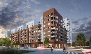 Unikátní pražský projekt inspirovaný zahraniční bytovou výstavbou ozdobí břeh Vltavy
