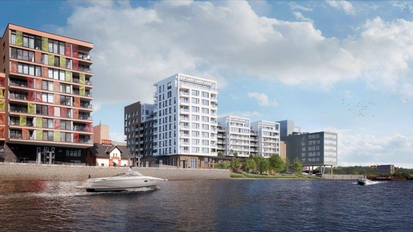 Unikátní rezidenční projekt Prague Marina Nova uvítá první majitele již za dva roky