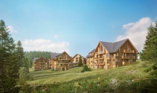 V Krkonoších vznikne luxusní rezidenční komplex isnpirovaný alpskými středisky