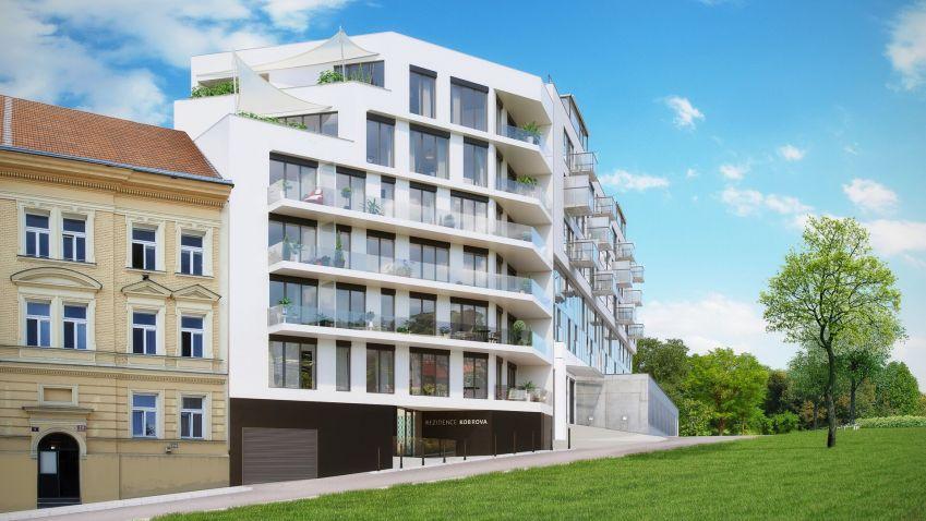 V Praze vznikají nové rezidenční domy. Nabídnou krásný výhled na Prahu a blízkost centra