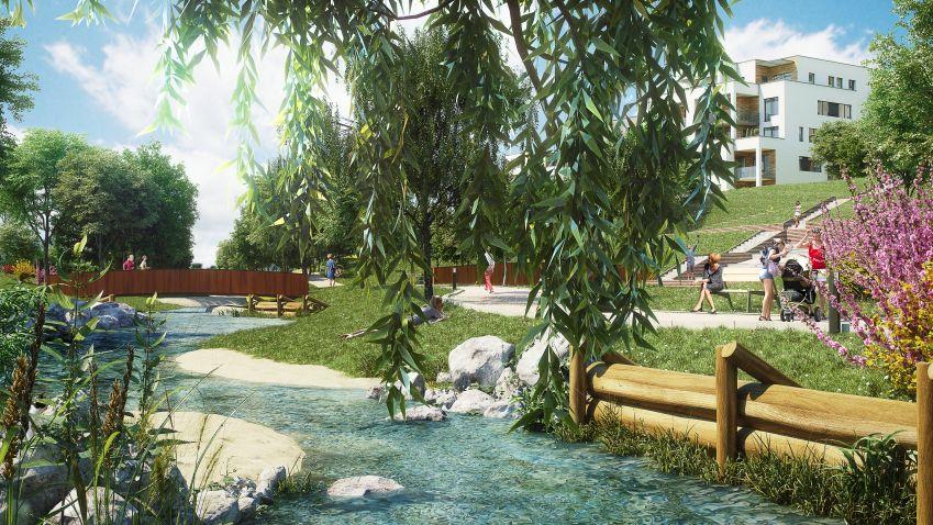 V pražském Hloubětíně vznikne rezidenční komplex inspirovaný Finskem