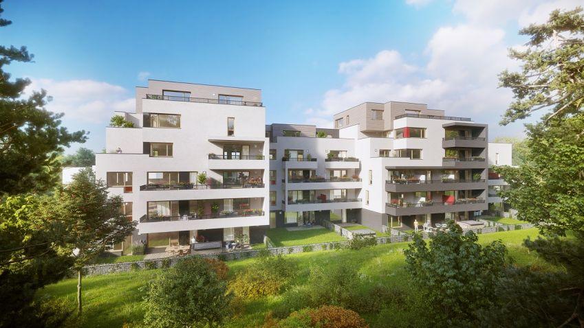 V pražských Modřanech vzniká 55 nízkoenergetických bytů