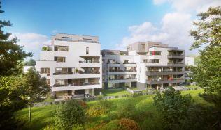 V pražských Modřanech vyrůstá  55 energeticky úsporných bytů