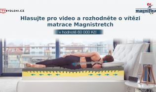 Václav Brácha soutěží o matraci Magnistretch od Magniflex za 60.000 Kč - hlasujte!
