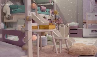 Variabilní dětské pokoje v pastelových barvách