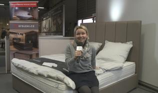 Veronika Pitelová vyhrává postel za 170.000 Kč!