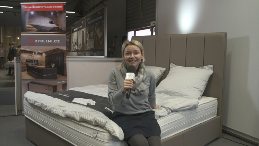 Veronika Pitelová vyhrává postel za 170.000 Kč! Gratulujeme!