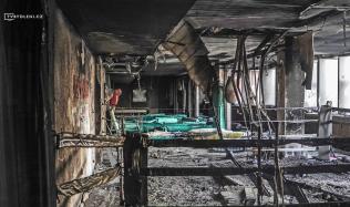 Vyhořelé fitness, které v minulosti navštívil i Mike Tyson, čeká rekonstrukce