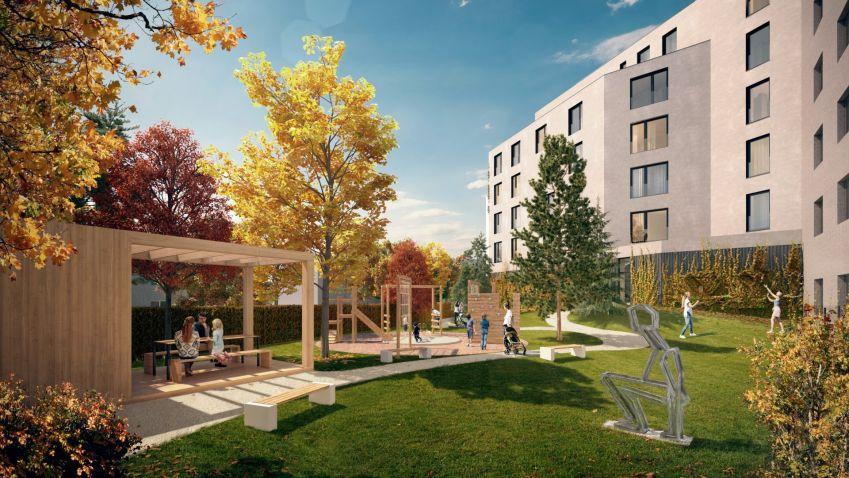 Výstavba energeticky pasivního projektu Rezidence Michelangelova právě zahájena