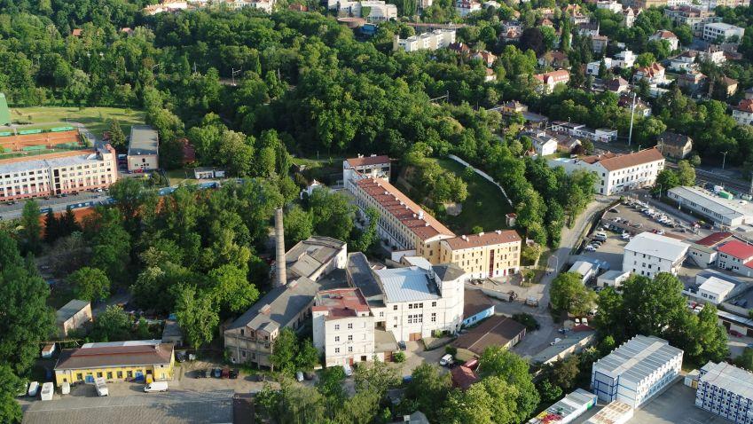 Z areálu bývalých papíren v Bubenči  se stane  moderní rezidenční čtvrť