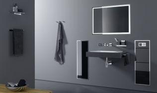 Stylové koupelny plné inspirace - Zabudovaná koupelnová skříňka je nejen elegantní, ale také hygienická