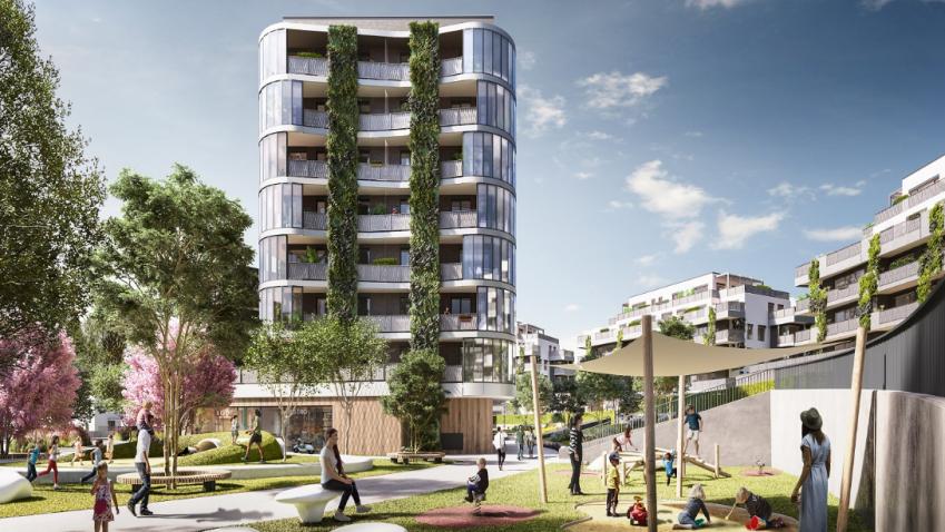 Začal předprodej první stovky bytů vprojektu Arcus City