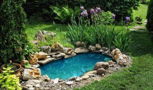 Zahradní jezírko oživí zákoutí na vaší zahradě