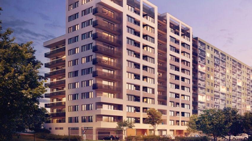 Zájem o bydlení v Praze roste, stále více se prodávají nové byty
