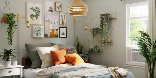 Zařiďte si jednoduchou, a přesto útulnou ložnici ve skandinávském stylu